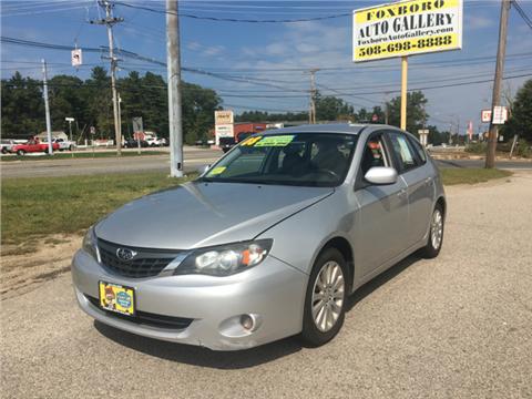 2008 Subaru Impreza for sale in Foxboro, MA