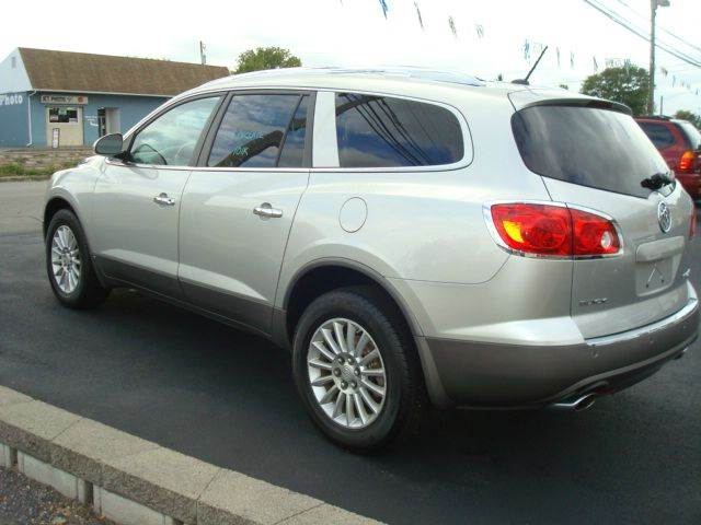 11 buick enclave battery location