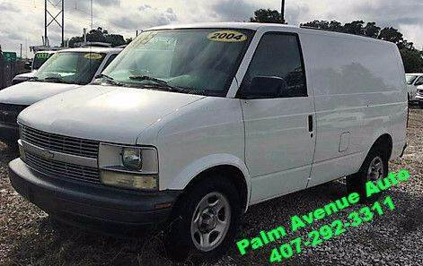 2004 Chevrolet Astro Cargo for sale in Apopka FL