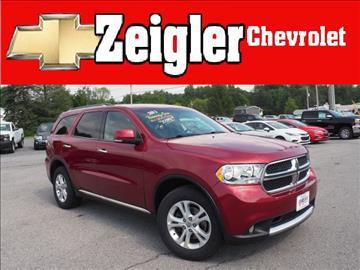 2013 Dodge Durango for sale in Claysburg, PA