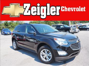 2016 Chevrolet Equinox for sale in Claysburg, PA