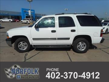 Chevrolet Tahoe For Sale Norfolk Ne Carsforsale Com