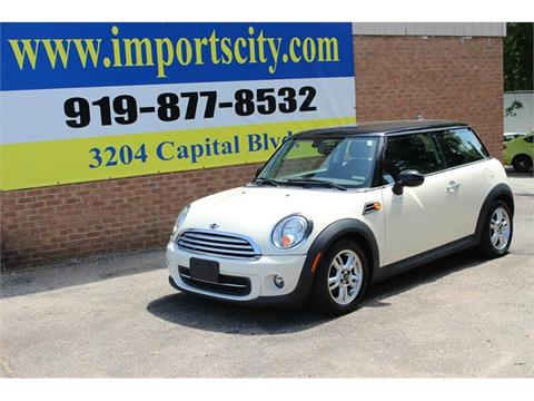 2013 MINI Hardtop for sale in Raleigh, NC