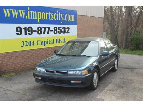 1991 Honda Accord for sale in Raleigh, NC