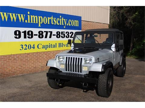 1993 Jeep Wrangler for sale in Raleigh, NC