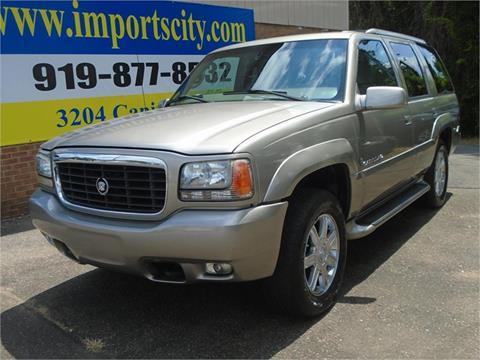 2000 Cadillac Escalade For Sale Carsforsale Com