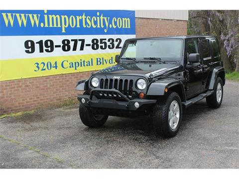 2012 Jeep Wrangler Unlimited for sale in Raleigh, NC