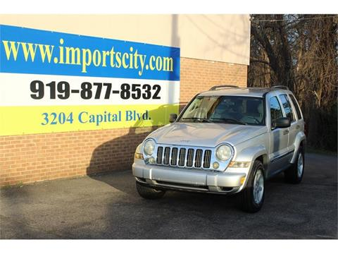 2005 Jeep Liberty for sale in Raleigh, NC