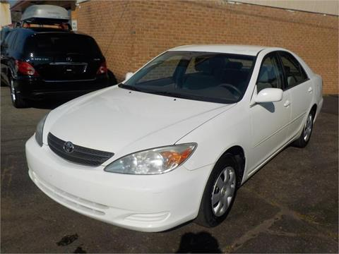 Used 2002 toyota camry for sale in north carolina for Skyline motors raleigh nc