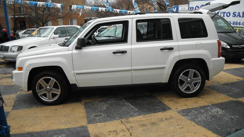 2008 jeep patriot limited 4x4 4dr suv w cj1 side airbag. Black Bedroom Furniture Sets. Home Design Ideas