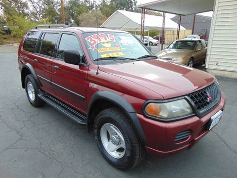 Good 2001 Mitsubishi Montero Sport For Sale In Roseville, CA