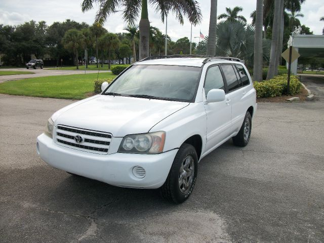 2003 TOYOTA HIGHLANDER V6 2WD unspecified abs brakesair conditioningamfm radioanti-brake syste