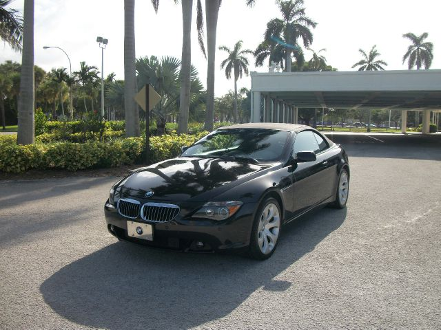 2005 BMW 6 SERIES 645CI CONVERTIBLE black you will love driving this one 866-330-0591 abs brakes