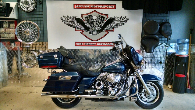 2000 HARLEY-DAVIDSON ELECTRA GLIDE FLHTC blue wow a bagger for 6990 what a great motorcycle this