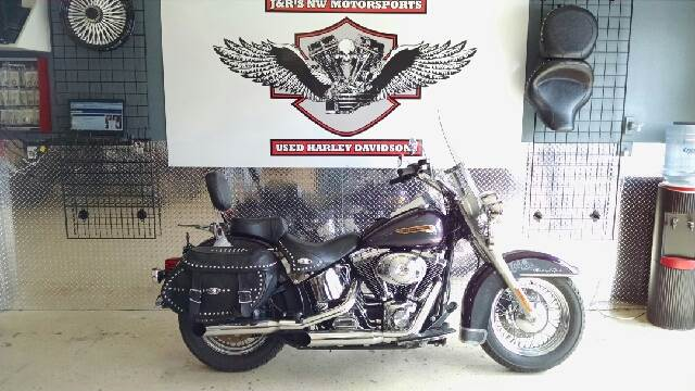 2004 HARLEY-DAVIDSON HERITAGE SOFTAIL UNSPECIFIED chrome this 2004 heritage softail is one nice b