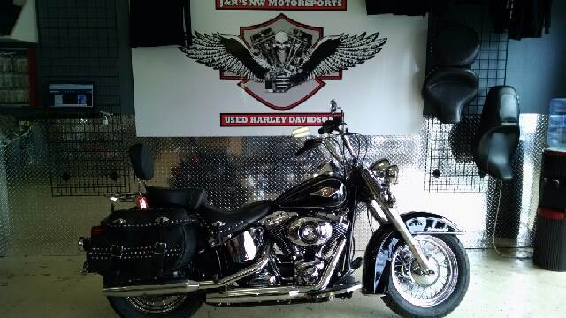 2012 HARLEY-DAVIDSON HERITAGE SOFTAIL UNSPECIFIED black this is a must see heritage softail room