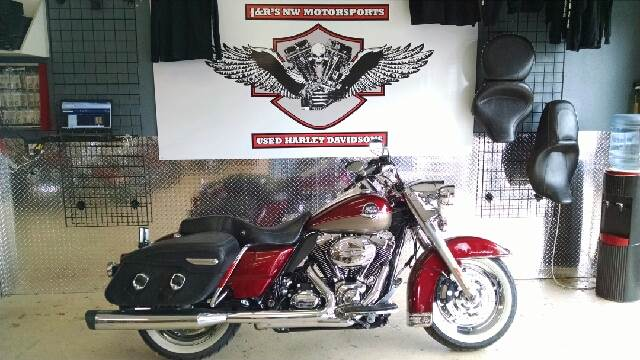 2009 HARLEY-DAVIDSON ROAD KING UNSPECIFIED red  gray this is a cool and classic looking road kin