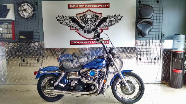 1999 HARLEY-DAVIDSON DYNA SUPERGLIDE chrome wow what a cool super glide all tricked out the right