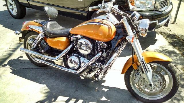 2002 KAWASAKI VULCAN 1500 UNSPECIFIED goldorange wow this is a very nice starter bike ready f