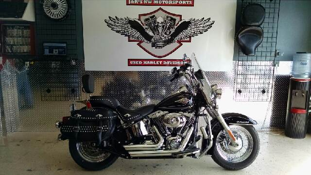 2011 HARLEY-DAVIDSON HERITAGE SOFTAIL UNSPECIFIED black 5525 miles VIN 1HD1BW537BB014374