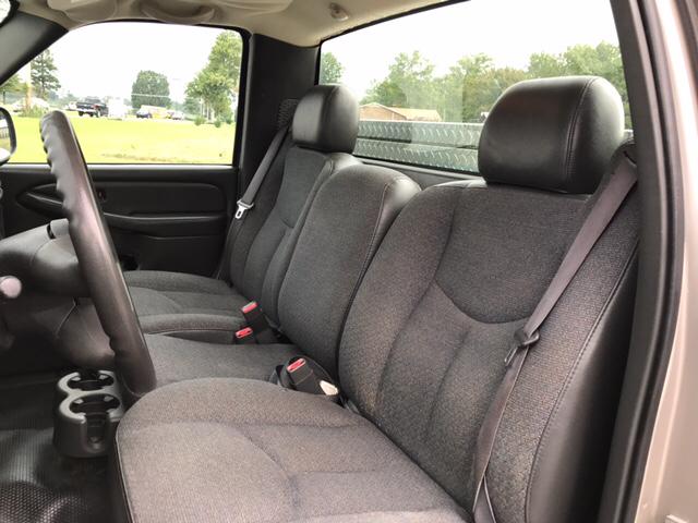 2007 Chevrolet Silverado 1500 Work Truck 2dr Regular Cab 8 ft. LB - Maryville TN