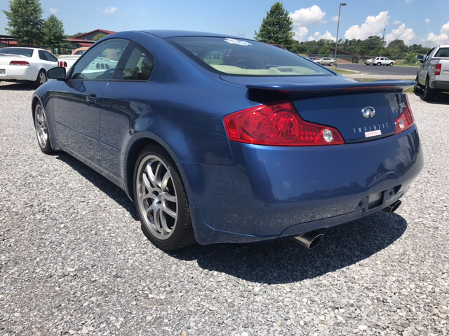 2005 Infiniti G35 Base Rwd 2dr Coupe - Maryville TN