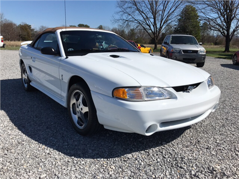 1996 ford mustang svt cobra for sale louisville ky. Black Bedroom Furniture Sets. Home Design Ideas