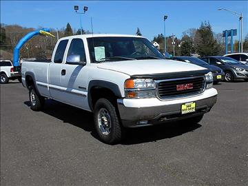 2000 GMC Sierra 2500 for sale in Aberdeen, WA