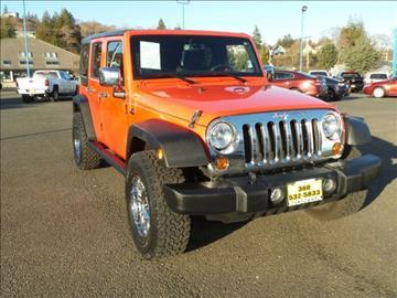 2013 Jeep Wrangler Unlimited for sale in Aberdeen, WA