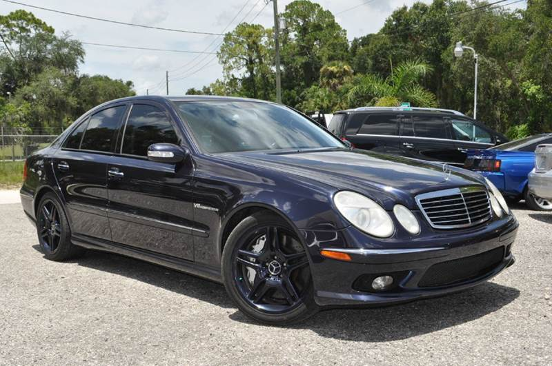2006 mercedes benz e class e55 amg 4dr sedan in deland fl elite motorcar llc. Black Bedroom Furniture Sets. Home Design Ideas