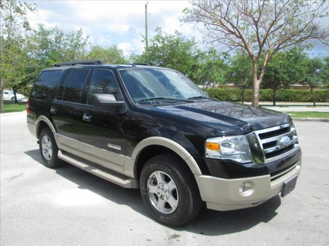 2007 FORD EXPEDITION EDDIE BAUER black super nice expedition clean title low miles non