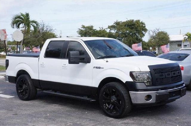 2008 FORD F150 SUPERCREW white additional warranty its available we have a 100 approval warranty