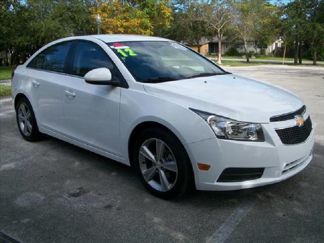 2012 CHEVROLET CRUZE LT white runs perfect one owner non smoker leather seats power p