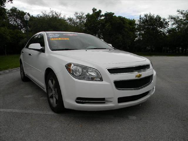 2012 CHEVROLET MALIBU white low miles clean title one owner power package ac icecold