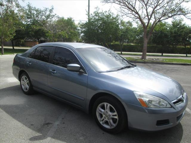 2007 HONDA ACCORD SE blue air conditioning power windows power locks power steering tilt wheel