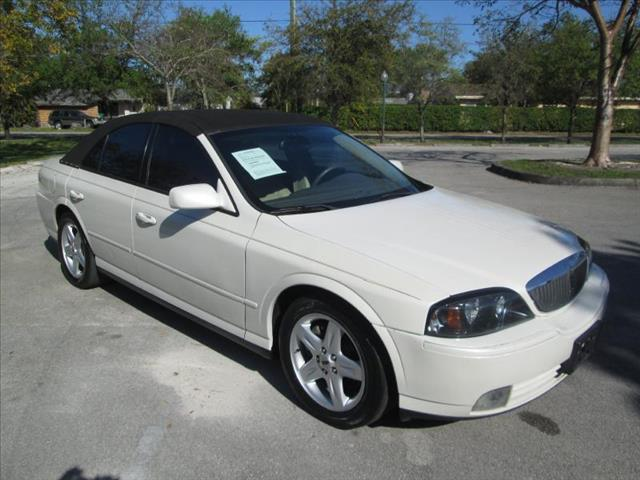 2005 LINCOLN LS white managers speciallow miles clean title leather seats heather