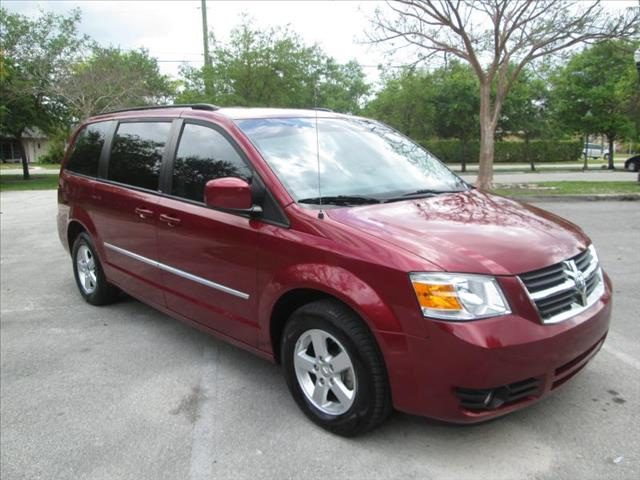 2010 DODGE GRAND CARAVAN SXT red special clean title runs like new low miles 3 rd