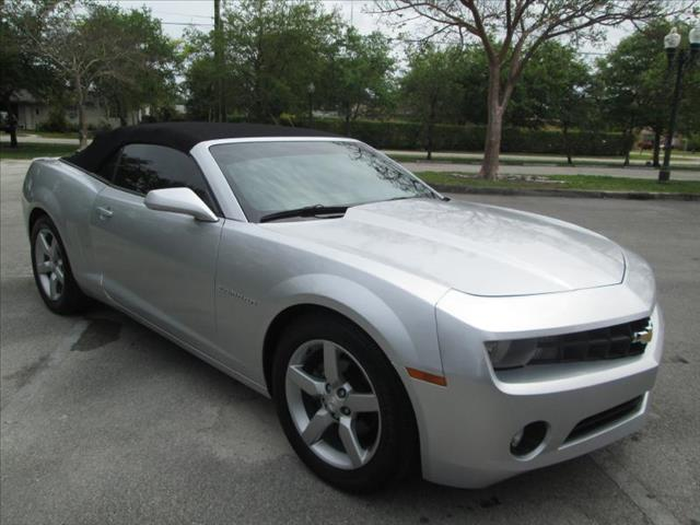 2012 CHEVROLET CAMARO CONVERTIBLE silver clean title nice convertible like new no accide