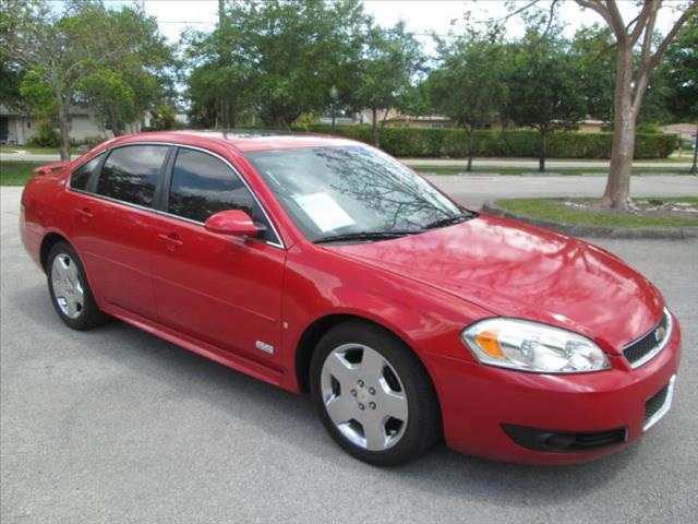 2009 CHEVROLET IMPALA red managers special ss super sport non smoker leather interior