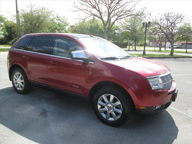 2008 LINCOLN MKX red panoramic sunroof power locks power windows perfect conditions
