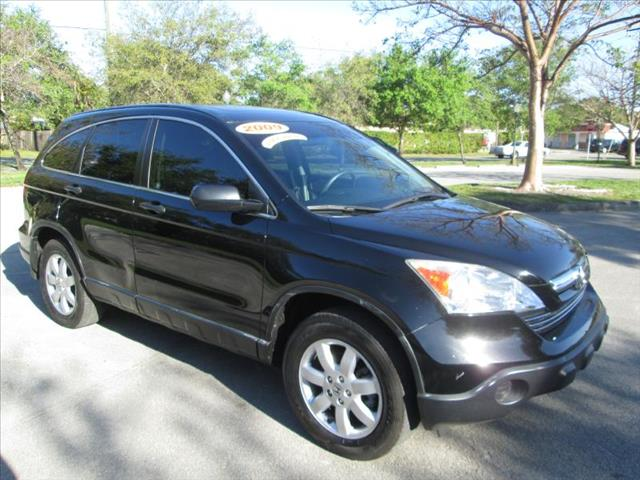 2009 HONDA CR-V EX black super nice suv clean title one owner runs good cruise con