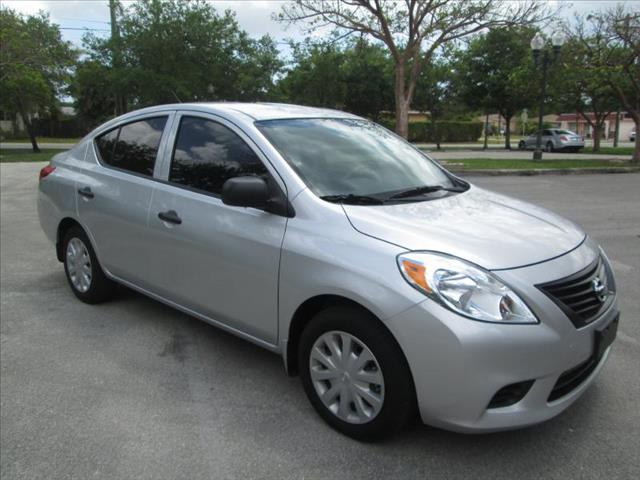2012 NISSAN VERSA silver air conditioning power windows power locks power steering tilt wheel