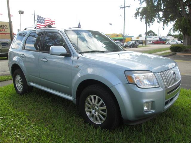 2009 MERCURY MARINER FWD I4 PREMIER blue managers special premier edition two tone seats