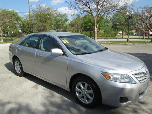 2011 TOYOTA CAMRY BASE silver a must see vehicle low miles one owner clean title