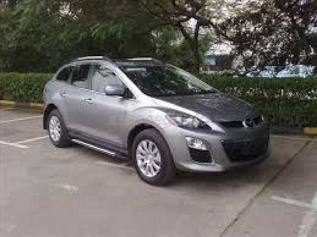 2008 MAZDA CX-7 silver air conditioning power windows power locks power steering tilt wheel a