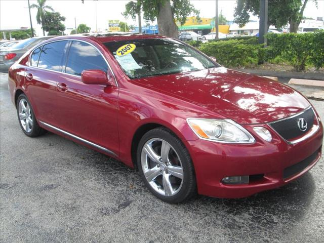 2007 LEXUS GS 350 red super nice creampuff vehicle no dealer fees clean title non-sm