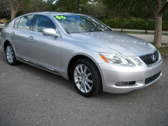 2006 LEXUS GS 300 silver a must see vehicle low miles clean title nice sport ride ru