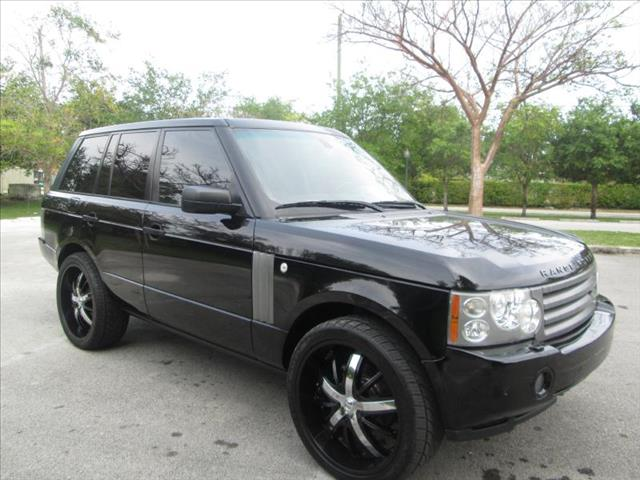 2006 LAND ROVER RANGE ROVER HSE black special nice suv  clean title runs like new no a