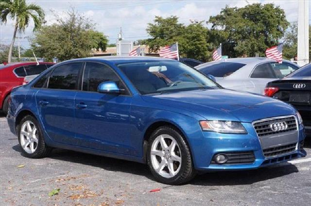 2009 AUDI A4 PREMIUM PLUS blue great vehicle about the retail book value low miles automatic n