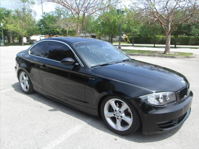 2008 BMW 1 SERIES black super sport car clean title runs like new no accidents power